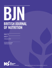 British Journal of Nutrition Volume 116 - Issue 9 -