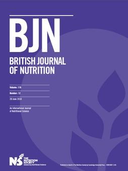 British Journal of Nutrition Volume 119 - Issue 12 -