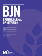 British Journal of Nutrition Volume 119 - Issue 8 -