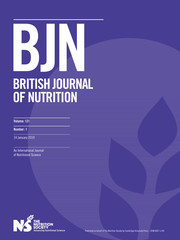 British Journal of Nutrition Volume 121 - Issue 1 -