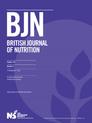 British Journal of Nutrition Volume 122 - Issue 5 -  Special Issue on Nutrition and Cancer