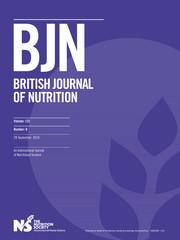 British Journal of Nutrition Volume 122 - Issue 6 -