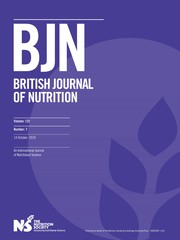 British Journal of Nutrition Volume 122 - Issue 7 -