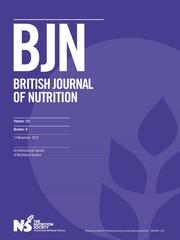 British Journal of Nutrition Volume 122 - Issue 9 -