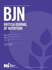 British Journal of Nutrition Volume 123 - Issue 8 -