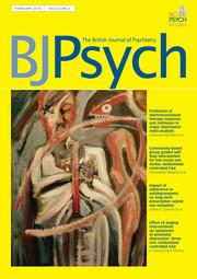 The British Journal of Psychiatry Volume 212 - Issue 2 -