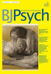 The British Journal of Psychiatry Volume 212 - Issue 5 -