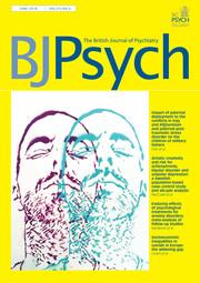 The British Journal of Psychiatry Volume 212 - Issue 6 -