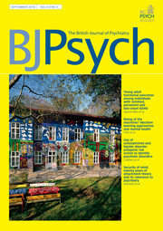 The British Journal of Psychiatry Volume 213 - Issue 3 -