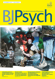 The British Journal of Psychiatry Volume 213 - Issue 6 -