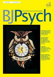 The British Journal of Psychiatry Volume 214 - Issue 5 -