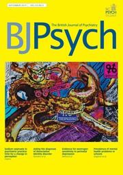 The British Journal of Psychiatry Volume 215 - Issue 3 -