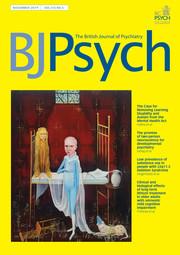 The British Journal of Psychiatry Volume 215 - Issue 5 -