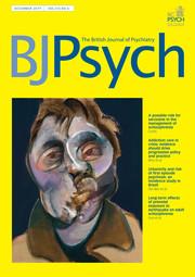 The British Journal of Psychiatry Volume 215 - Issue 6 -