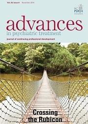 BJPsych Advances Volume 20 - Issue 6 -