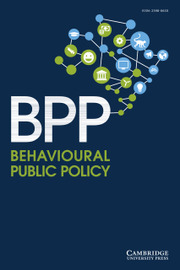 Behavioural Public Policy
