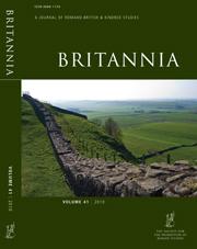 Britannia Volume 41 - Issue  -
