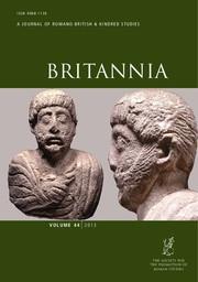 Britannia Volume 44 - Issue  -