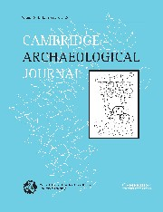 Cambridge Archaeological Journal Volume 15 - Issue 2 -