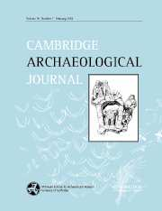 Cambridge Archaeological Journal Volume 16 - Issue 1 -