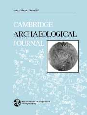 Cambridge Archaeological Journal Volume 17 - Issue 1 -