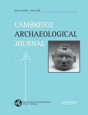 Cambridge Archaeological Journal Volume 18 - Issue 1 -