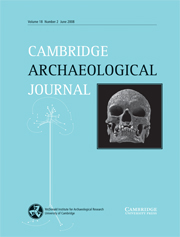 Cambridge Archaeological Journal Volume 18 - Issue 2 -