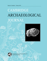 Cambridge Archaeological Journal Volume 20 - Issue 1 -