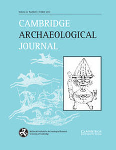 Cambridge Archaeological Journal Volume 22 - Issue 3 -