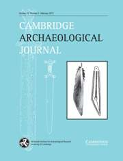 Cambridge Archaeological Journal Volume 23 - Issue 1 -