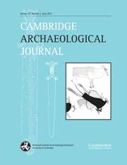 Cambridge Archaeological Journal Volume 23 - Issue 2 -