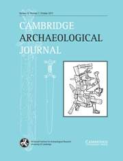 Cambridge Archaeological Journal Volume 23 - Issue 3 -