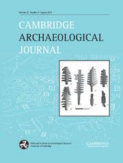 Cambridge Archaeological Journal Volume 25 - Issue 3 -