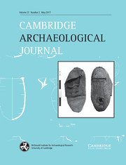 Cambridge Archaeological Journal Volume 27 - Issue 2 -