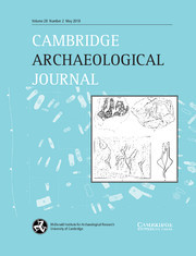Cambridge Archaeological Journal Volume 28 - Issue 2 -
