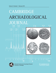 Cambridge Archaeological Journal Volume 29 - Issue 1 -