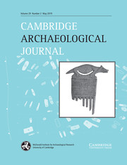 Cambridge Archaeological Journal Volume 29 - Issue 2 -