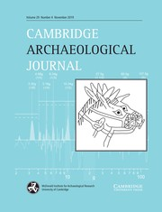 Cambridge Archaeological Journal Volume 29 - Issue 4 -