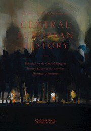 Central European History Volume 52 - Issue 4 -