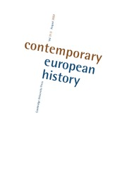 Contemporary European History