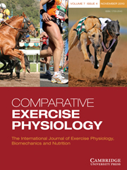Comparative Exercise Physiology Volume 7 - Issue 4 -