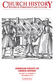 Church History Volume 79 - Issue 4 -