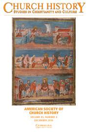 Church History Volume 85 - Issue 4 -