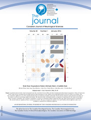 Canadian Journal of Neurological Sciences Volume 43 - Issue 1 -