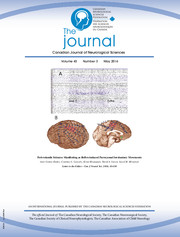 Canadian Journal of Neurological Sciences Volume 43 - Issue 3 -