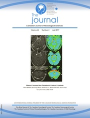 Canadian Journal of Neurological Sciences Volume 44 - Issue 4 -