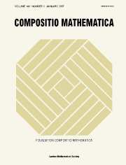 Compositio Mathematica Volume 143 - Issue 1 -