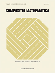 Compositio Mathematica Volume 145 - Issue 2 -