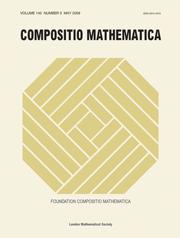 Compositio Mathematica Volume 145 - Issue 3 -