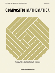 Compositio Mathematica Volume 148 - Issue 1 -